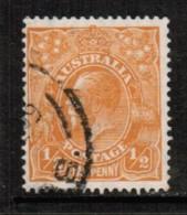 AUSTRALIA  Scott # 66 VF USED - 1913-36 George V: Heads