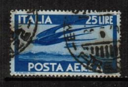 ITALY  Scott # C 111 VF USED - 5. 1944-46 Lieutenance & Umberto II