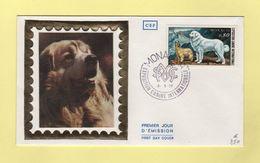 FDC Monaco - Exposition Canine - Chien - Chiens Des Pyrenees - 1977 - Chiens