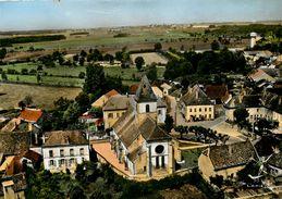 MIREBEAU SUR BEZE - VUE AERIENNE - LE BOURG - QUARTIER DE L'EGLISE - Mirebeau