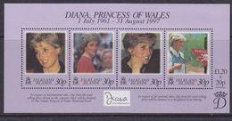 Falkland Islands 1998 Diana Princess Of Wales M/s ** Mnh (37110) - Falklandeilanden