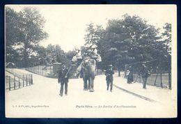 Cpa Du 75 Paris Vécu -- Au Jardin Acclimatation      SEP17-48 - Petits Métiers à Paris