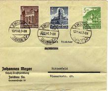 Drittes Reich Mi 751; 752; 753 Auf Umshlag [040715KIV] - Germany