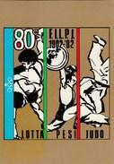 1982 ITALIAN JUDO Federation  EVENT COVER Italy Stamps Sport Postcard - Judo