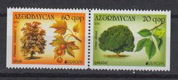 AZERBAIJAN  : 721a-722a ** MNH – Europe CEPT 2011 – Les Forêts  - Forest - Azerbaïdjan