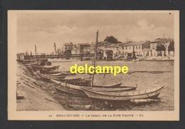 DF / 30 GARD / LE GRAU-DU-ROI / LE CANAL DE LA RIVE DROITE - Le Grau-du-Roi