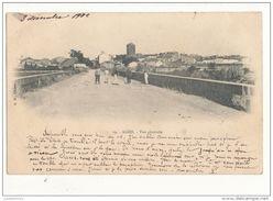 34 AGDE VUE GENERALE 1902 - Agde
