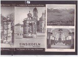 SCHWYZ SUISSE - EINSIEDELN - DEPLIANT EN 4 VOLETS - TB - Tourism Brochures