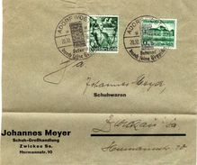 Drittes Reich Mi 660; 673  Auf Umshlag [050715KIV] - Germany