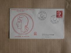 FDC  05/01/1959  Marianne De Muller - FDC