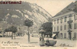 FLEURIER GRAND'RUE CHAPEAU NAPOLEON NEUCHATEL SUISSE SWITZERLAND - NE Neuchâtel