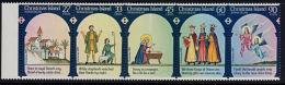 A5843  CHRISTMAS ISLAND 1985, SG 207-11 Christmas Carols, MNH - Christmas Island