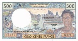 TERRITOIRES FRANCAIS DU PACIFIQUE I.E.O.M. BILLET 500 FRANCS - NEUF (2 Scan) 3 - French Pacific Territories (1992-...)