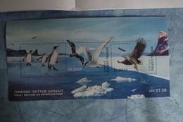 2-430 TAAF Emission Conjointe Groenland Manchot Penguin Sterne Skua Pygargue Aigle Pêcheur Fish Poisson Antarctic Artic - Preserve The Polar Regions And Glaciers