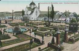 Bruxelles - Exposition Universelle 1910 - Carte Officielle - Section Allemande - Pas Circulé - TBE - Expositions Universelles