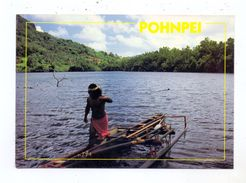 MICRONESIA - POHNPEI, Outlegger Canoe - Micronesia