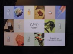 SHISEIDO Cosmetique Carte - Modern (from 1961)