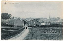 Brabant Wallon>REBECQ  Panorama 1910 Timbre 1c REBECQ 1911 (CARITAS) - SBP 4 Sté An. Belge De Phototypie Brux - CPA - Rebecq