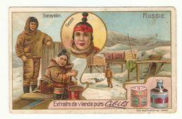 Advertising Card. Russia. Siberia. Types. Samoeds. - Russland