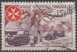 AFRIQUE  OCCIDENTALE  FRANCAISE  N°63__ OBL VOIR  SCAN - A.O.F. (1934-1959)