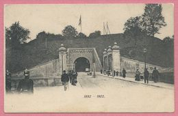 57 - METZ - Prinz Friedriech Karl Thor - 1892 - 1902 - Sans éditeur - 2 Scans - Metz