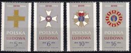 Pologne 1984 N° Y&T :   2738 à 2741 ** - 1944-.... République