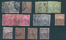 7958 Hungary Turul Mythology Bird Used 25 Stamps - Oblitérés