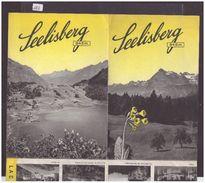 URI SUISSE - SEELISBERG - DEPLIANT EN 4 VOLETS - TB - Tourism Brochures