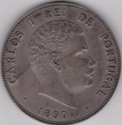 PORTUGAL MEDAL - ROYALTY - MONARQUIA - D. CARLOS I - REI DE PORTUGAL - Royal / Of Nobility