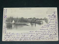HONFLEUR   1905  LA NORMANDIE PITTORESQUE /  SUR LES CANAUX    EDIT PONT AUX DAMES - Honfleur