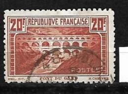 No 262B Oblitéré - Used Stamps