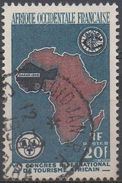 AFRIQUE  OCCIDENTALE  FRANCAISE  N°64__ OBL VOIR  SCAN - A.O.F. (1934-1959)