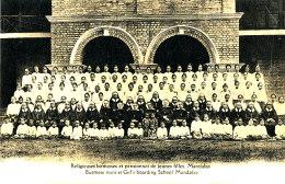 AH 673/ C P A - ASIE -BIRMANIE  -RELIGIEUSES BIRMANES ET PENSIONNAT DE JEUNES FILLES MANDALAY - Postcards