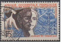AFRIQUE  OCCIDENTALE  FRANCAISE  N°66__ OBL VOIR  SCAN - A.O.F. (1934-1959)