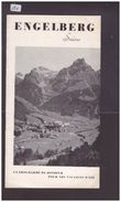 OBWALD SUISSE - ENGELBERG - LIVRET 6 PAGES - TB - Toeristische Brochures