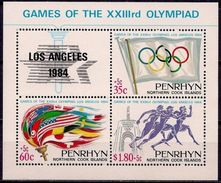 PENRHYN - 1984 - Los Angeles 1984, Jeux Olympiques D'été - BF Neufs // Mnh - Penrhyn