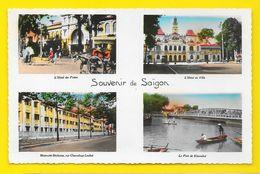 SAÏGON Multivues Souvenir (P.C) Viet-Nam - Viêt-Nam