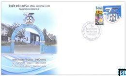 Sri Lanka Stamps 2017, S. Thomas' College, Bandarawela, Special Commemorative Cover - Sri Lanka (Ceylon) (1948-...)