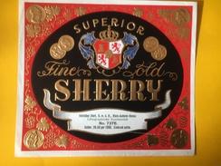 5607 -  Sherry Superior  Modèle D'imprimerie Voir Description - Etiquettes