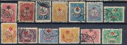 Stamp Turkey Overprint  Used Lot#48 - Oblitérés