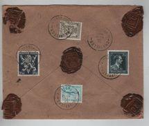 TP 694-420-687-725 S/L.Assurée De 2600 Frs C.BXL 13/9/1948 V.Ypres AP1187 - Belgien