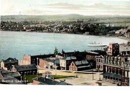 BARRIE, Ontario, Cnada, BEV & Waterfront, 1907 Scott Postcard, Simcoe County - Ontario