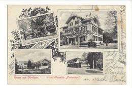 17986 - Gruss Aus Gümligen Hotel Pension Mattenhof Multivues - BE Berne
