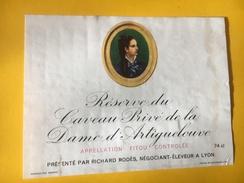 5612  -  Réserve Du Caveau Privé De La Dame D'Artiguelouve Fitou - Etiquettes