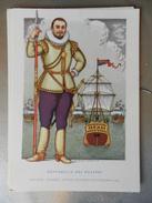 14315) SERIE PIRATI E CORSARI PIET HEYN OLANDESE ILLUSTRATORE NICOULINE NON VIAGGIATA - Altre Illustrazioni