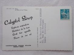 """Carte Postale Avec Publicité - CALYPTOL Par Les Laboratoires """"Roger BELLON""""  - CPA - CP - Carte Postale - France"""