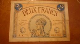 FRANCE DEUX FRANCS - Non Classificati