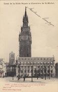 Gand Menu Local De La Gilde Royale Chevalière De Saint Michel Halle Aux Draps Beffroi 1903 - Menú