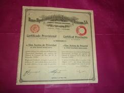 Banco Hipotecario De Credito Territorial Mexicano (1932) Mexico - Acciones & Títulos