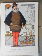 14316) SERIE PIRATI E CORSARI JOHN HAWKINS DETTO AQUINES NEGRIERO ILLUSTRATORE NICOULINE NON VIAGGIATA - Altre Illustrazioni